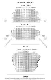 queen u0027s theatre seating plan londontheatre co uk