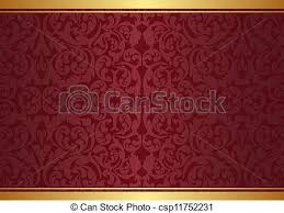 vectors of background with ornaments maroon and gold background