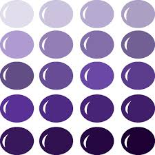 Purple Shades by Invue Color Palette Shades Of Purple Pazzles Craft Room