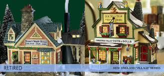 department 56 villages retired new series