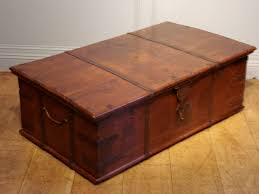 Rustic Coffee Table Trunk Create An Antique Trunk Coffee Table Dans Design Magz