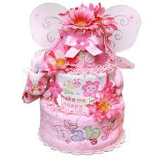you make me happy butterfly diaper cake 112 00 diaper cakes