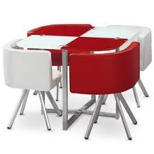 table avec 4 chaises table 4 chaises encastrables comparer 11 offres