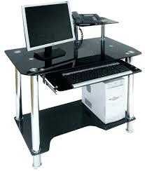Computer Desk Small Small Glass Corner Desk Endearing Glass Corner Computer Desk