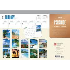 paradisedesk pad 9781465097347 calendars com