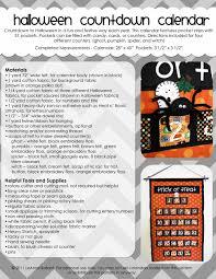 days to halloween everyday celebrations new pattern halloween countdown calendar