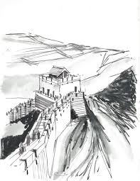 lines on paper travel sketches beijing part 2