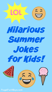 hilarious summer jokes that kids will love