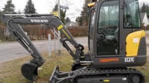 volvo ec27c compact excavator service repair manual instant