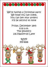 kids christmas party invitation cards christmas invitation