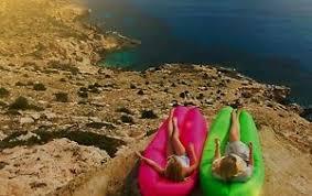 inflatable air lounge hammock kaisr laybag woohoo wind pouch ebay