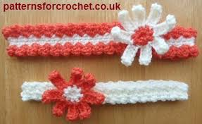 crochet hair band free crochet baby headband patterns karla s it