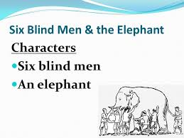 Blind Men And The Elephant Poem Hindu Poems U0026 Stories Summary Ppt Video Online Download