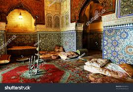 islamic interior architectural details stock photo 96410912