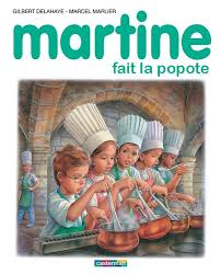 martine fait la cuisine martine et la cuisine en 4 albums mercredirose