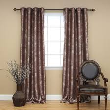 decorating elegant grommet curtains for inspiring home
