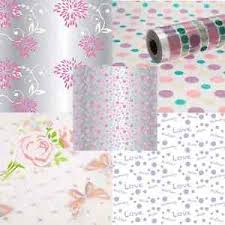 clear gift wrap mothers day clear cellophane roll 80cm florist flower