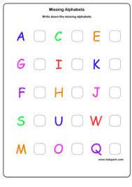 missing letter worksheets activity sheets for kids letter
