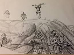 Cool Drawings Halo Google Search Halo Pinterest