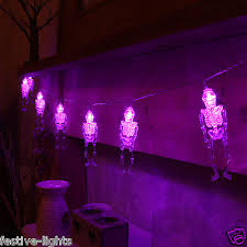 halloween purple led string lights halloween lights and decoration collection on ebay