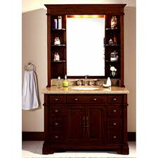Modern Single Sink Bathroom Vanities by Bathroom 2017 Solid Brown Mahogany Lanza Single Sink Bathroom