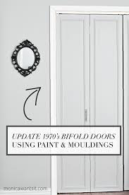 Folding Doors For Closets How To Update 1970 S Bi Fold Closet Doors Wants It
