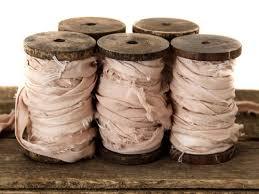dyed ribbon silk dyed wedding ribbon010 image 297331 polka dot