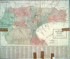 map of essex county nj maps in the littman library and newark library barbara