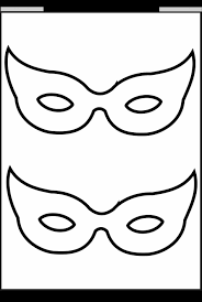 mask templates children templatez234 halloween mask templates
