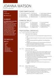 banking cv examples and template