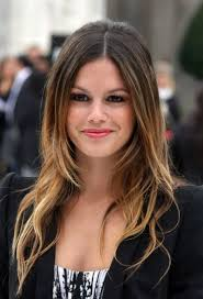 the rachel haircut 2013 ombre hair 2013 rachel bilson long center parted straight ombre