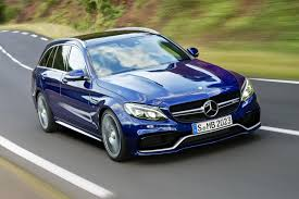 blue station wagon mercedes amg c63 s estate 2016 review by car magazine