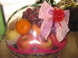 Jual Keranjang Parcel Kecil parcel buah kecil toko buah bandung