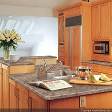Kitchen Laminate Countertops Using A Laminate Countertop As The Focal Point Of The Kitchen