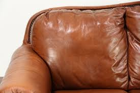 leather sofa with nailheads sold leather sofa brass nailhead trim viewpoint leather works