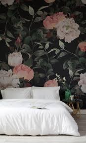 dark vintage floral wall mural dark backgrounds floral dark vintage floral wall mural