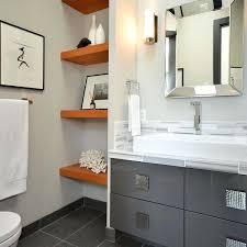 Bathroom Shelf With Mirror Bathroom Shelves Side Nobailout Org