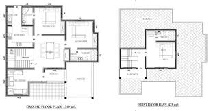 425 Square Feet 1561 Square Feet 3 Bedroom Double Floor Home Design At 7 5 Cent