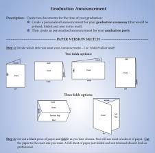 make your own graduation announcements sle graduation announcement template 8 free documents in pdf