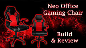 Desk Chair For Gaming by Neo Office Gaming Chair Build U0026 Review Comfort On A Budget Youtube