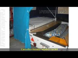 tenda carrello carrello tenda usato raclet