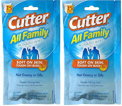 amazon com cutter all family mosquito wipes hg 95838 15 wipes