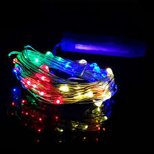 battery operated mini christmas lights 20 micro led 6 6ft silver wire mini string fairy lights xmas wedding
