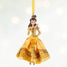 disney princess sketchbook ornament collection inside the magic