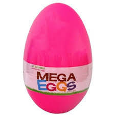 large plastic easter eggs mega large pink blue and green nested plastic easter eggs