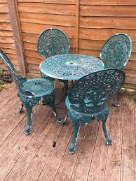 cast iron patio furniture sets lovely ornate cast iron patio set bistro set garden table