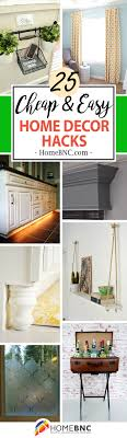 home design hacks 25 best home decor hacks ideas and projects for 2018