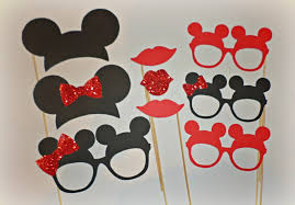 mickey mouse photo booth props minnie mouse photo booth props