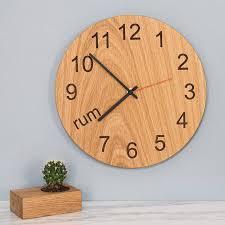 designer wall clocks online india clocks bedroom notonthehighstreet com