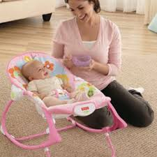Pink Swinging Baby Chair Price Infant To Toddler Bouncer Chair Swing Seat Pink Bunny Rocker